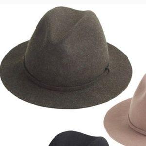 J.Crew Classic Fedora Wool Hat
